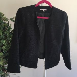 NWOT GAP sparkly tweed jacket with pockets!